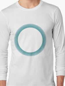 Graphical circle Long Sleeve T-Shirt