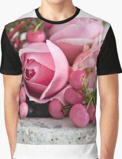Rose Romance Graphic T-Shirt