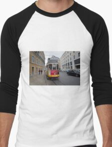 Electric Tram Lisbon Men's Baseball ¾ T-Shirt