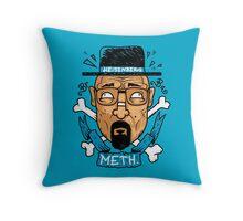 Heisenberg Meth Throw Pillow