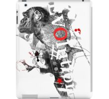 Evolution (white version) iPad Case/Skin