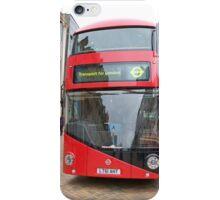 New London bus Prototype iPhone Case/Skin