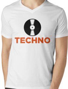 Techno music! Mens V-Neck T-Shirt