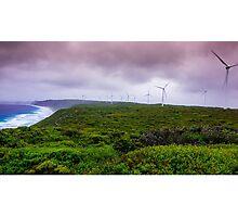 wind farm Photographic Print