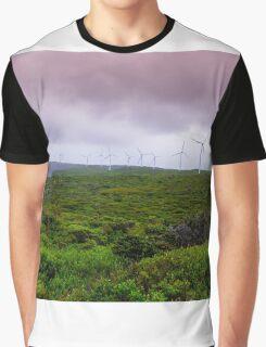 wind farm Graphic T-Shirt