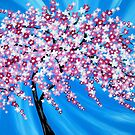 Sakura Cascade by cathyjacobs