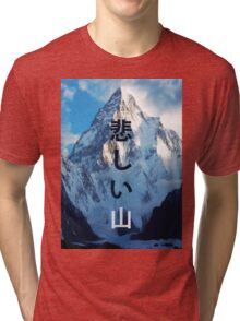 Sad mountain Tri-blend T-Shirt