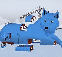 Building a Wolf by Sam Brewster