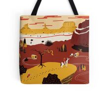 Way Out West Tote Bag