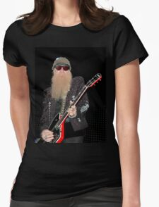 Billy Gibbons Concert by bak Womens Fitted T-Shirt