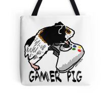 Guinea pig video gamer Tote Bag