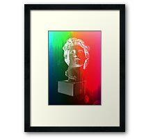 Rainbow bust Framed Print