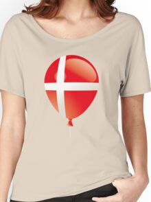 Danish flag Women's Relaxed Fit T-Shirt