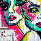Street Art  Melbourne  #122 by bekyimage
