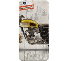 Triumph Bonneville T120 1964 iPhone Case/Skin