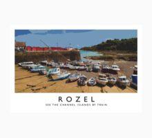 Rozel (Railway Poster) Kids Tee