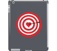 Target with Heart iPad Case/Skin
