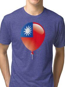 Malaysia Flag Tri-blend T-Shirt