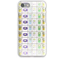 GameBoy Line iPhone Case/Skin