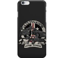 Anytime, Anywhere. iPhone Case/Skin