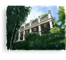 Charleston Terrace Canvas Print