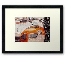 Triumph Bonneville T120 1964 Framed Print