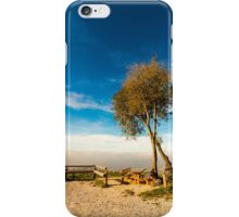 foggy day in the bay iPhone Case/Skin