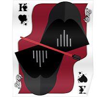 Cards Darth Vader Poster