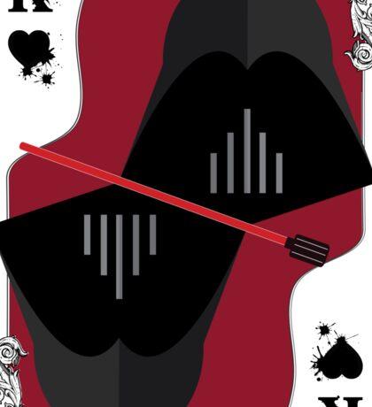 Cards Darth Vader Sticker