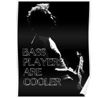 u2 adam bass players Poster