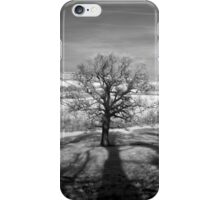 Lone tree over the East Somerset Railway iPhone Case/Skin