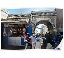 Inside the medina of Essaouira Poster