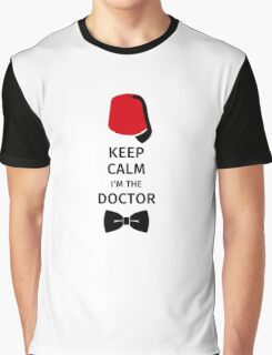Keep Calm I'm the Doctor Graphic T-Shirt