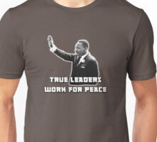 MLK, True Leader Unisex T-Shirt