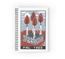 Fac-Tree Spiral Notebook