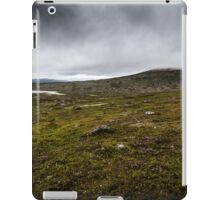 Fog on the hill iPad Case/Skin