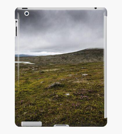 Fog on the hill iPad Case/Skin
