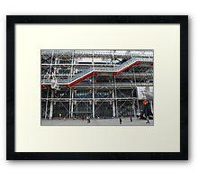 Pompidou Centre, Paris Framed Print