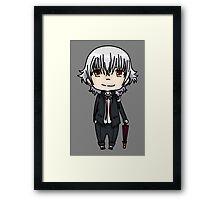 Isana Yashiro-K project  chibi Framed Print