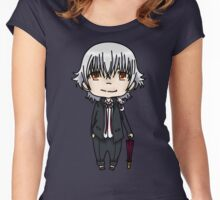 Isana Yashiro - K project  Women's Fitted Scoop T-Shirt