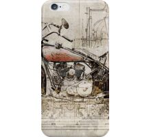 Indian 101 Scout 1931 iPhone Case/Skin