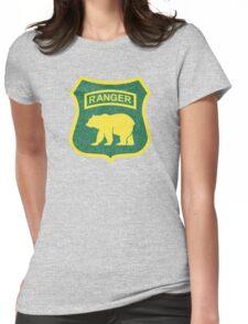 Ranger Bear Womens Fitted T-Shirt
