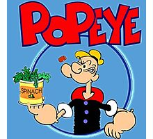 Popeye Photographic Print