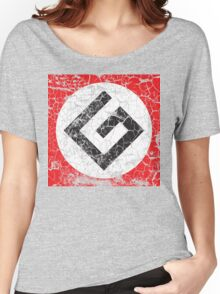 Grammar Nazi Distressed Art Women's Relaxed Fit T-Shirt
