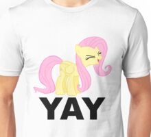 'Yay'-fluttershy decal Unisex T-Shirt