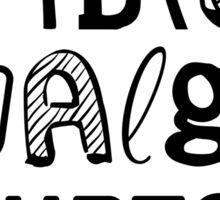 Fibromyalgia Hurts Awareness - Be Strong! Sticker