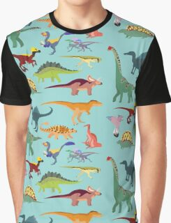 Dazzling Dinos - pattern Graphic T-Shirt