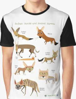 Canids of India Graphic T-Shirt
