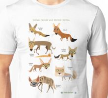 Canids of India Unisex T-Shirt