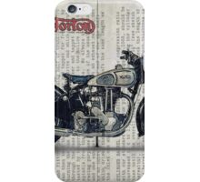 Norton ES 2 1948 iPhone Case/Skin